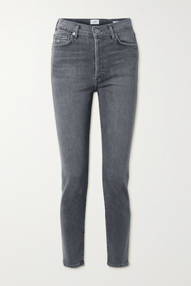 Citizens of Humanity Olivia High-rise Slim-leg Jeans - Gray