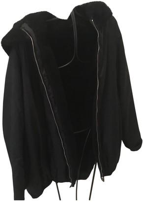 Allegri Black Faux fur Jacket for Women