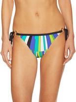 Trina Turk Sunbusrt Tie Side Hi Bikini Bottom