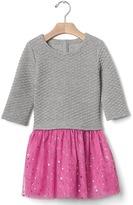 Gap Quilted jacquard tutu dress