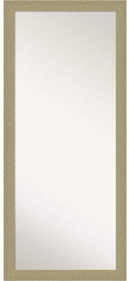 "Amanti Art Mosaic Gold-tone Framed Floor/Leaner Full Length Mirror, 28.25"" x 64.25"""