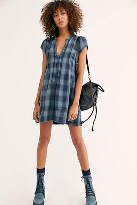 Cp Shades River Double Cloth Plaid Tunic by at Free People