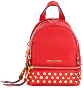 MICHAEL Michael Kors Rhea studded backpack - women - Leather - One Size