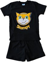ThePyjamaFactory Stampy Cat Unisex SHORT Pajamas StampyLongNose Head FACE 7 to 12 Years