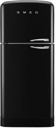 Smeg FAB50L Freestanding 70/30 Fridge Freezer, A++ Energy Rating, Left-Hand Hinge, 80cm Wide