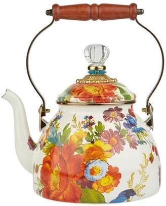 Mackenzie Childs Mackenzie-Childs Enamel Flower Market Tea Kettle