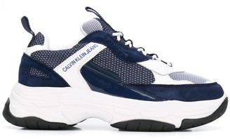 Calvin Klein Jeans Chunky Sole Low-Top Sneakers