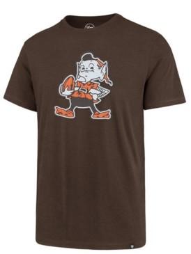 '47 Men's Cleveland Browns Knockout Fieldhouse T-Shirt
