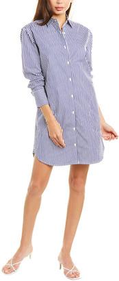 Kule Striped Shirtdress