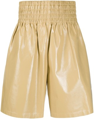 Bottega Veneta Elasticated Waist Knee-Length Shorts
