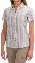 Woolrich Lakeside Plaid Shirt - Short Sleeve (For Women)