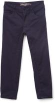 Eddie Bauer Navy Straight-Leg Trouser Pants - Girls