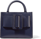 Boyy Bobby 23 Small Buckled Leather Tote - Navy