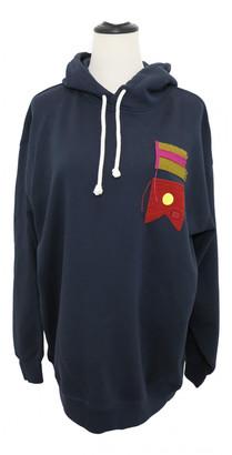 Acne Studios Navy Cotton Knitwear & Sweatshirts