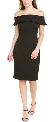 Eliza J Off-The-Shoulder Sheath Dress
