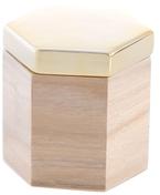 Shiraleah Medium Hexagonal Trinket Box