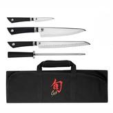 Shun Sora 5-Piece Student Knife Set