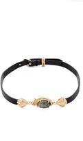 Alexis Bittar Golden Array Choker Necklace