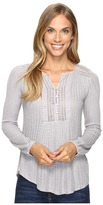 Lucky Brand Drop Needle Knit Top Women's Clothing