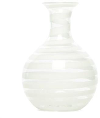 Yali Glass - A Nastro Small Glass Carafe - White