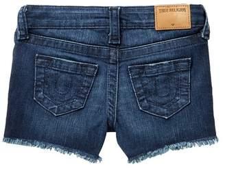True Religion Joey Raw Shorts (Toddler & Little Girls)