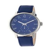 Simplify Unisex Blue Strap Watch-Sim3404