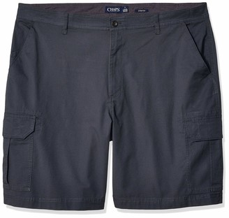 Chaps Men's Big and Tall Cotton Cargo Short