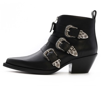 R 13 Ankle Three Buckle Boot