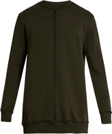 Damir Doma Walken extended-seam cotton sweatshirt