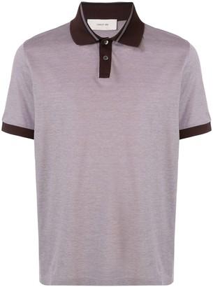 Cerruti Contrast-Trimmed Polo Shirt