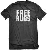 Indica Plateau Mens FREE HUGS Foundation Humanist Cute Funny T-Shirt