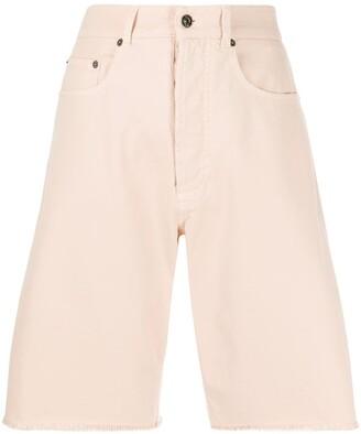 No.21 Denim Knee-Length Shorts