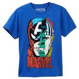JEM Marvel Character Faces Tee (Big Boys)