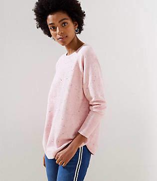 LOFT Dolman Shirttail Sweater