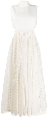 Zimmermann Cut Out Midi Dress