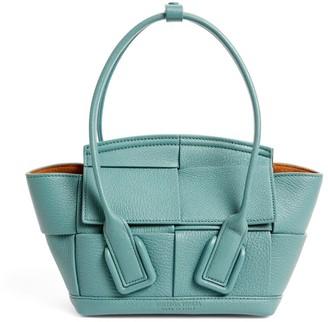 Bottega Veneta Mini Leather Arco Top-Handle Bag