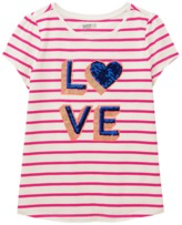 Crazy 8 Stripe Love Tee