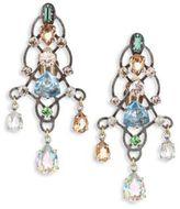 Lanvin Crystal Chandelier Earrings