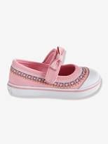 Vertbaudet Girls Canvas Mary Jane Shoes