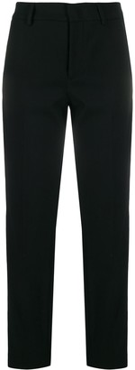 RED Valentino Side Stripes Cropped Trousers