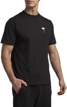 Palm Angels Men's Jersey Palm-Print T-Shirt