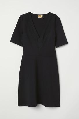 H&M Dress with Lace Details