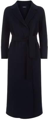 Max Mara Longline Wool Wrap Coat
