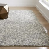 Crate & Barrel Alvarez Grey Hand Tufted Rug