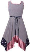 Bonnie Jean Girls 4-6x Americana Knit Sundress