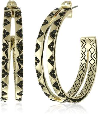 House of Harlow 1960 Outland Split Hoop Earrings