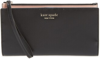 Kate Spade Spencer Continental Leather Wristlet