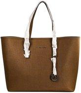 Michael Kors Women's Medium Saffiano Travel Leather Shoulder Tote