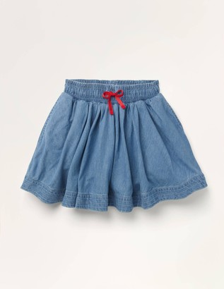 Woven Twirly Skirt