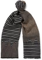 Missoni - Dégradé Patterned Wool Scarf